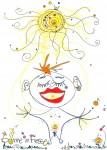 Sonne in Fresse
